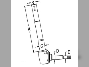Steering/Front Axle sn 435001 for Kubota Steering/Front
