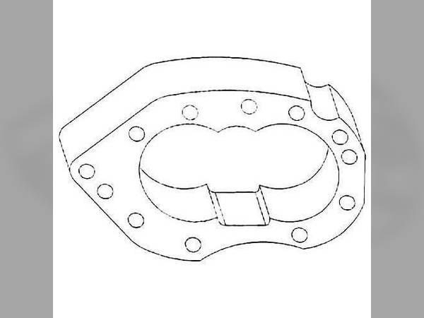 Hydraulics oem K2043B sn 111352 for Oliver Hydraulics #