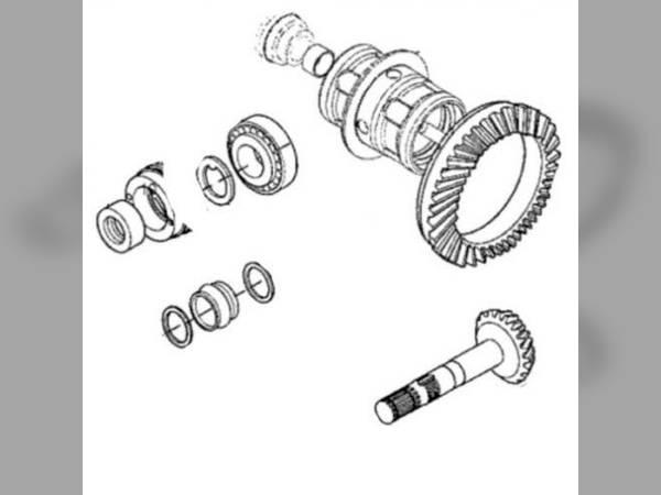 Steering/Front Axle oem RE204873 sn 154548 for John Deere