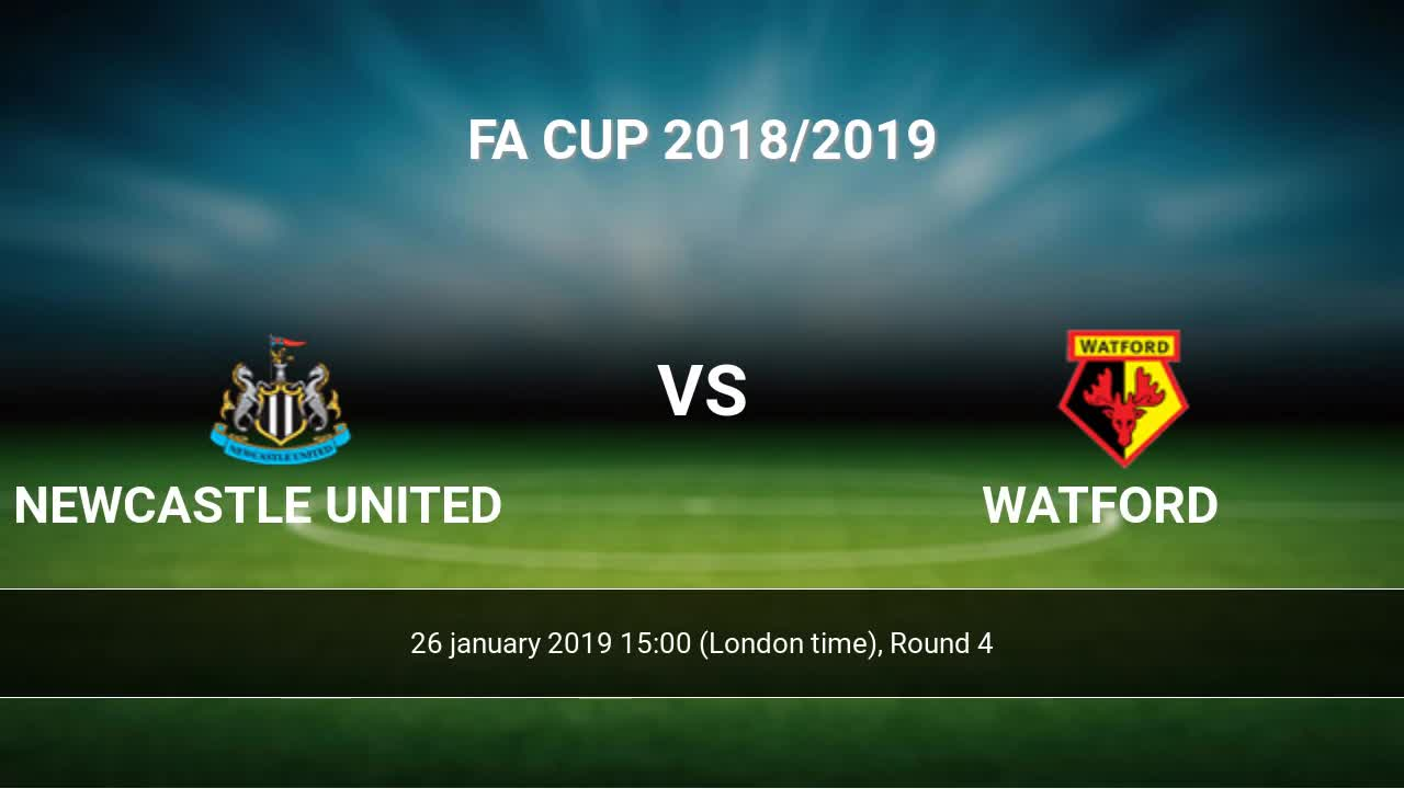 chesterfield wigan sofascore sofa with leather and fabric newcastle united vs watford h2h 26 jan 2019 head to stats predictions