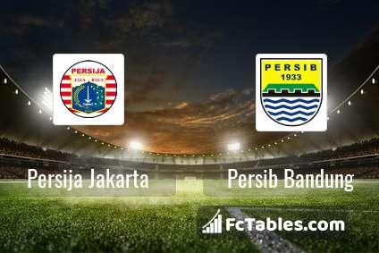 Persija Jakarta Vs Persib Bandung H2h 10 Jul 2019 Head To