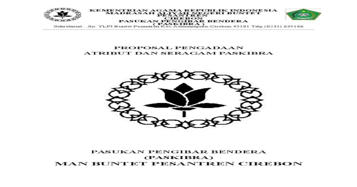 234459406 Contoh Proposal Pengajuan Atribut Dan Baju