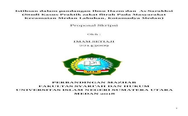 Contoh Proposal Skripsi Hukum Keluarga Islam Pejuang Skripsi Cute766