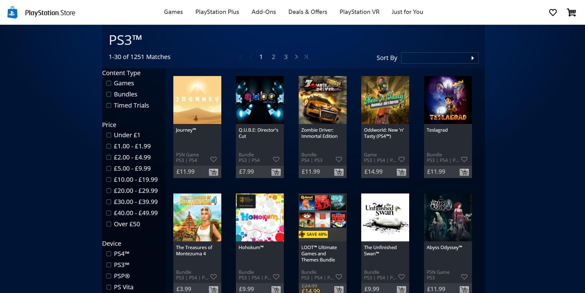 Sony slutar sälja PSP-. PS3- och Vita-spel via webben. Spelen nås endast via konsolerna | Feber / Spel