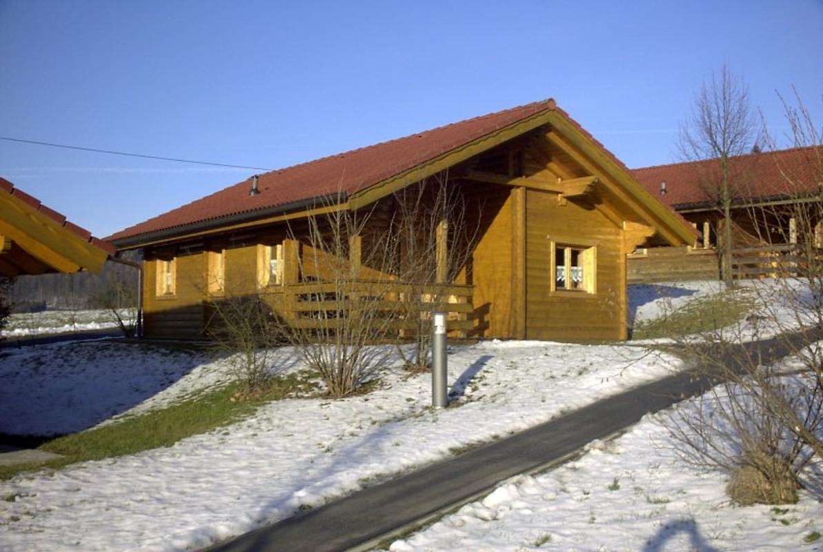 Ferienhaus Herta Blockhaus in Stamsried  Frau Herta Bruckner