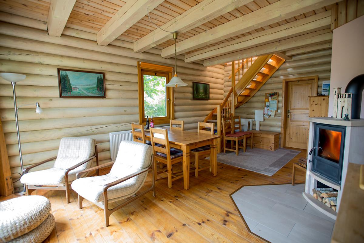 Holzblockhaus Malte  Ferienhaus in Templin mieten