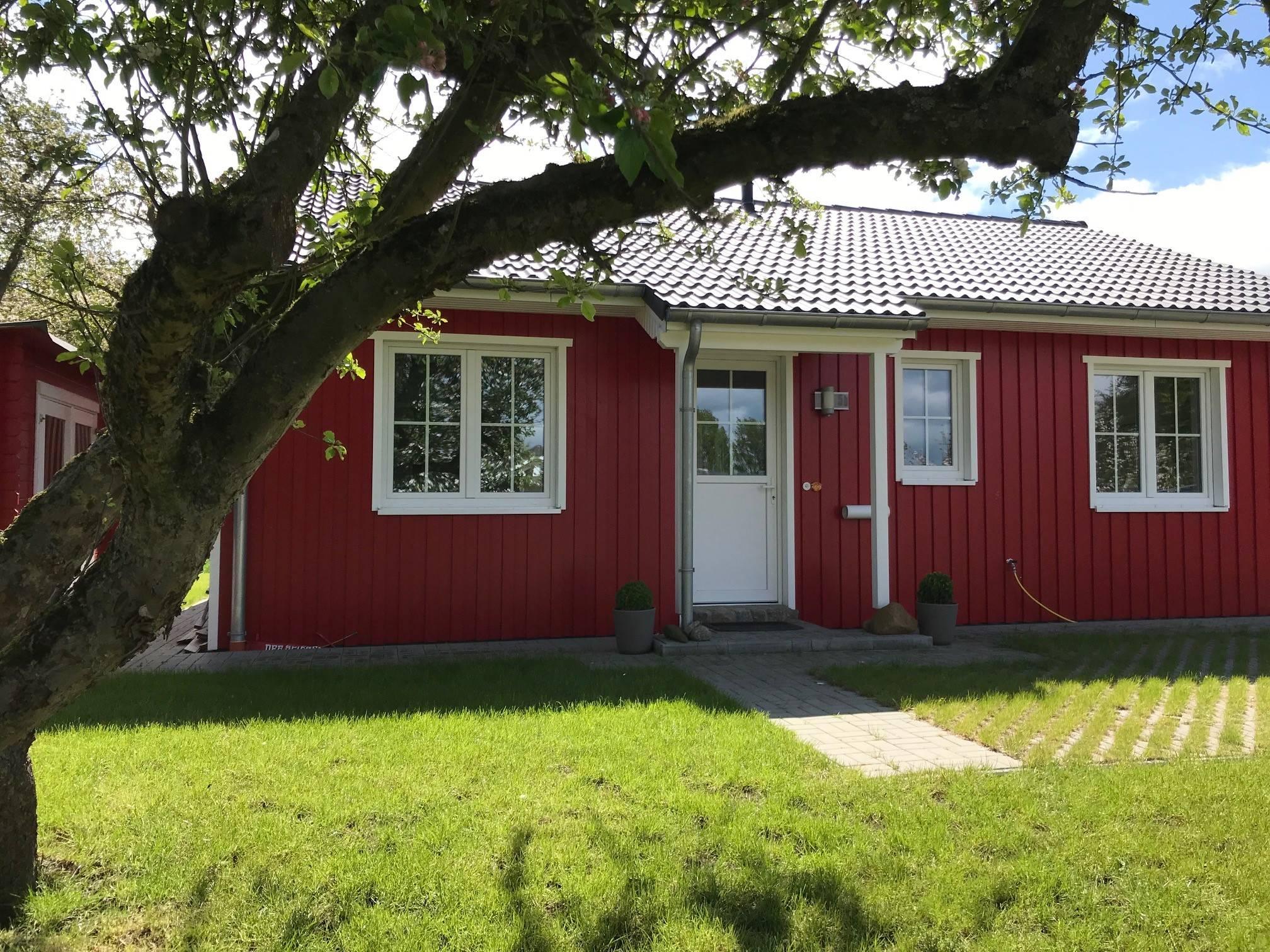 Fh Schwedenhaus Idyll - Fhb In Brodersby Schleswig-Holstein (Winkels)