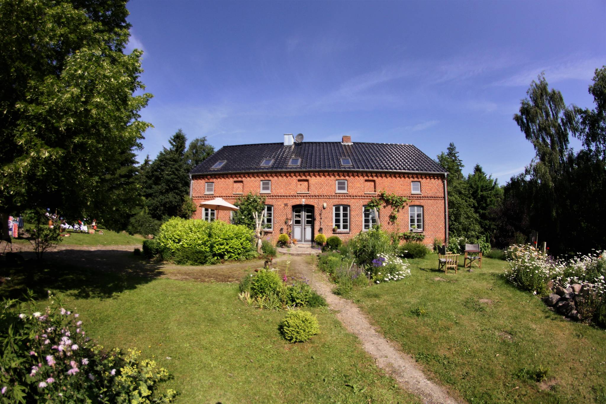Landidylle Moltenow in JrgenshagenMoltenow Mecklenburg