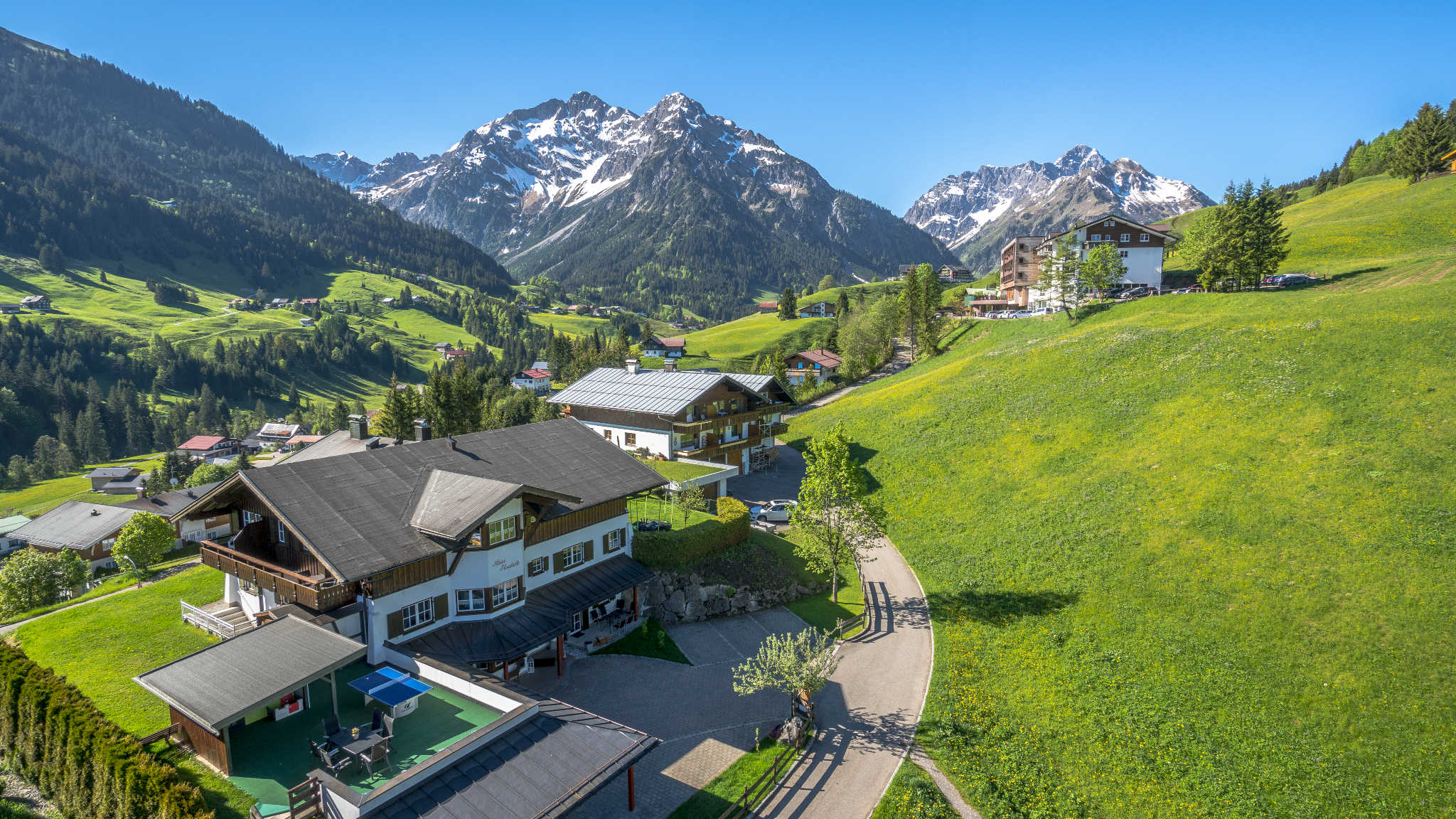 Haus Elisabeth in Hirschegg Vorarlberg Dirk Pieraert