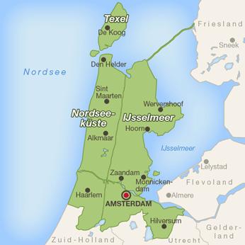 Ferienhuser  Ferienwohnungen in NoordHolland von privat