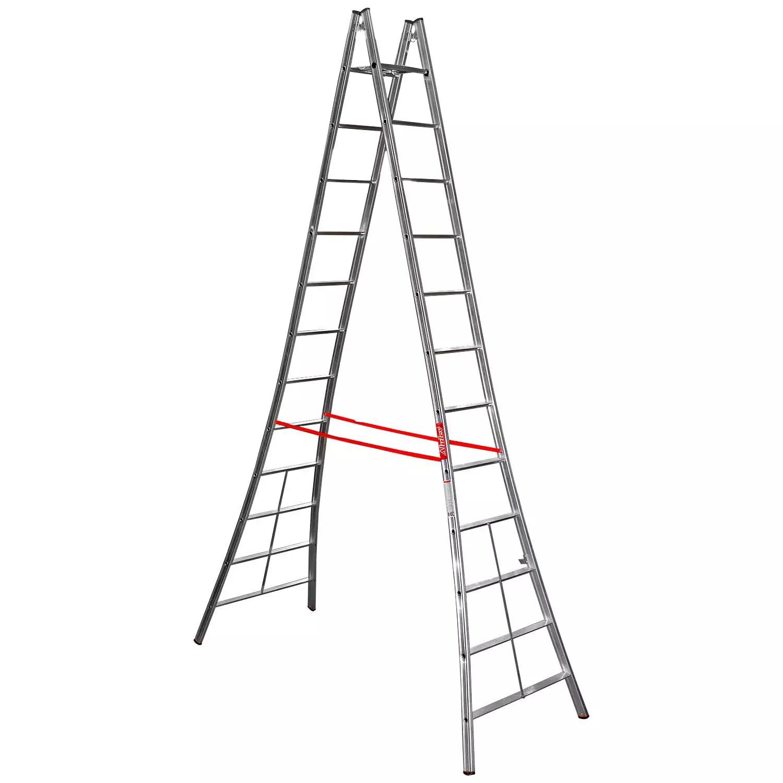 Escada de Alumínio Tipo Pintor / Abrir 3,40M 12 Degraus
