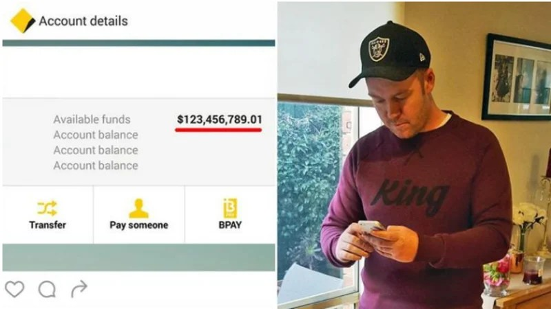 He Woke To Find 123m In His Bank Account It Happens Sometimes Commbank Says