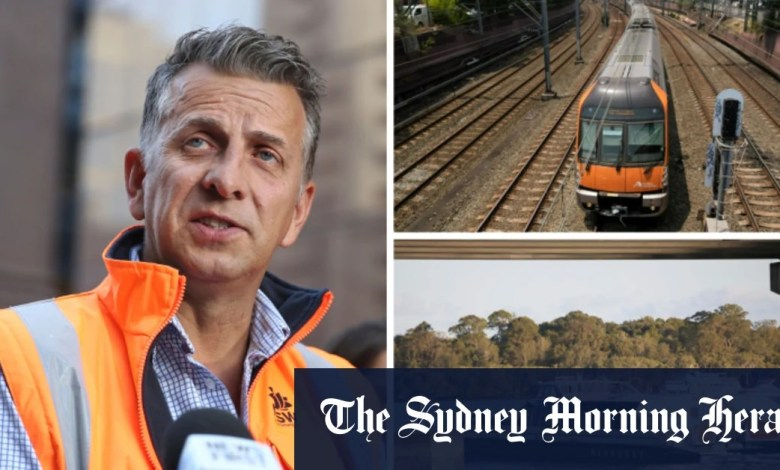 NSW rail network to go green by 2025, smaller ferries to go electric