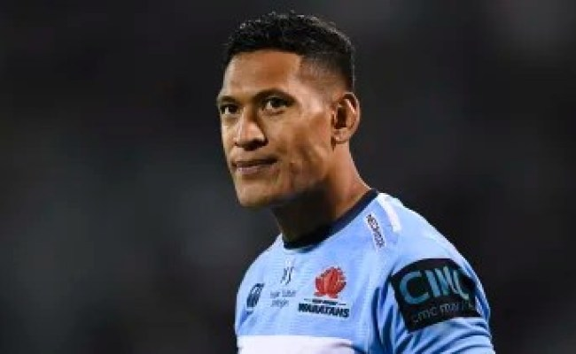 Israel Folau To Be Handed Breach Notice From Rugby Australia