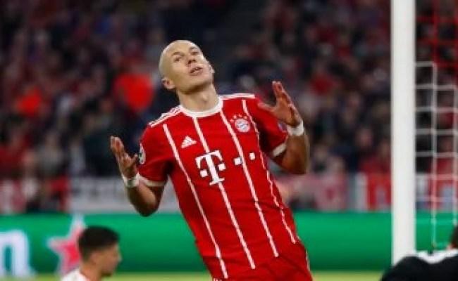 Champions League Arjen Robben Labels Anfield His Worst