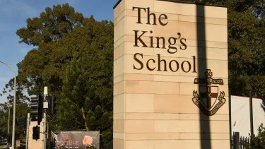 SCEGGS. The Kings School fees tip $40.000 a year