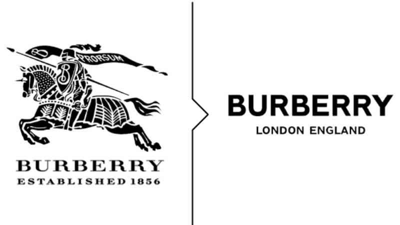 Burberry, Balenciaga, St Laurent: different luxury brands