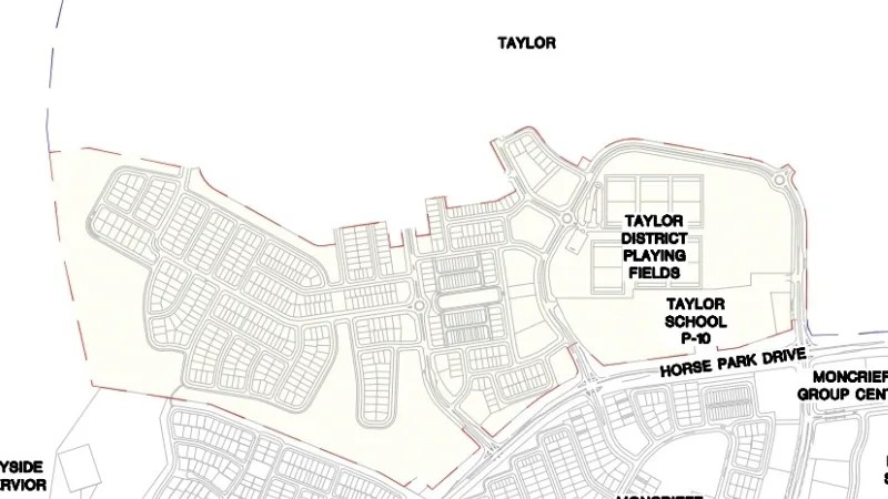 DA lodged for first stage of Taylor, Gungahlin's next suburb