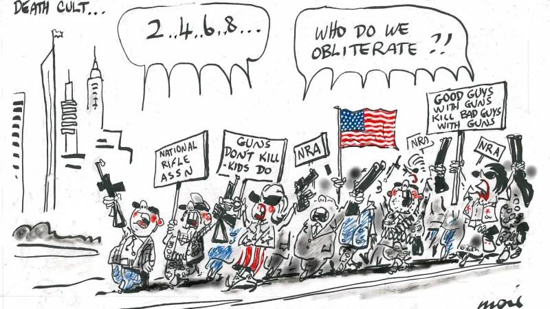 Alan Moir cartoon: December 7, 2015