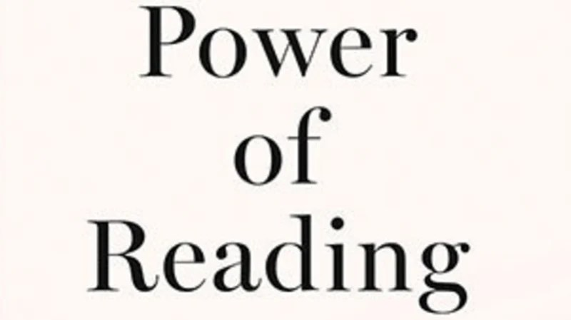 The power of reading: why picking up a book can say so