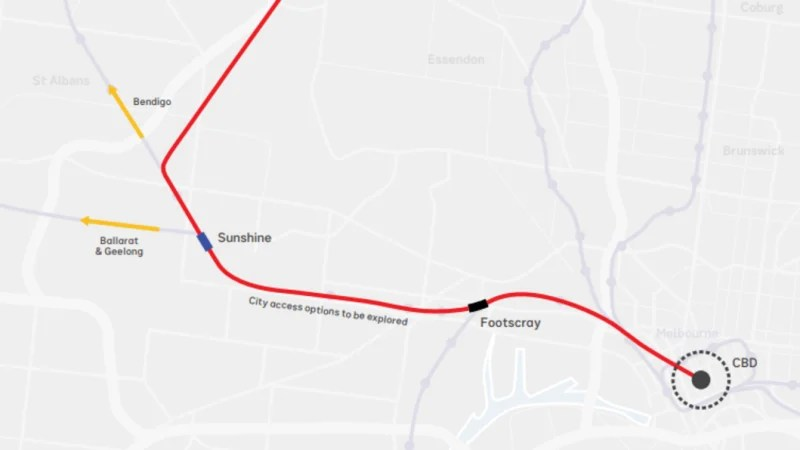 Global interest for Melbourne Airport rail link construction