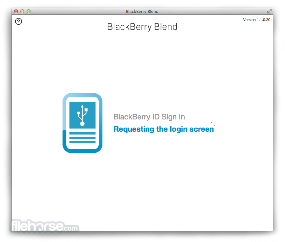 BlackBerry Blend for Mac 1.1.0.20 Download for Mac