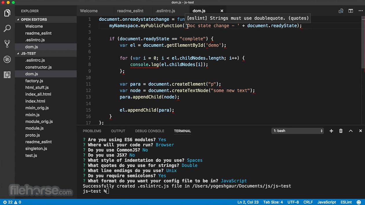 Visual Studio Code for Mac  Download Free 2019 Latest