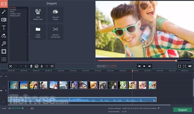 Movavi Video Editor 21.3 Download for Mac / Screenshots / FileHorse.com