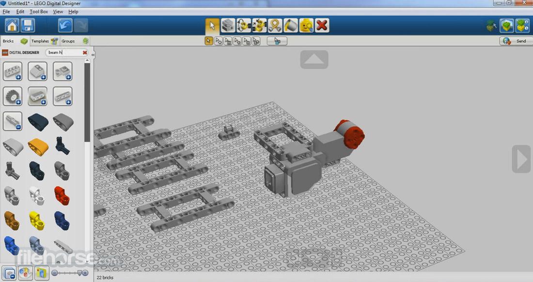 LEGO Digital Designer Download (2021 Latest) for Windows 10. 8. 7