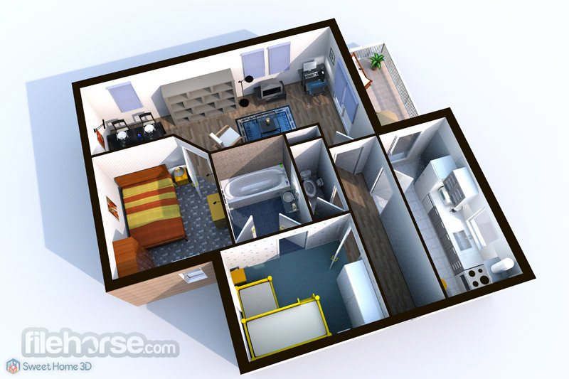 Sweet Home 3D 56 Download for Windows  FileHorsecom