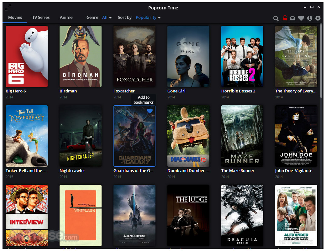 Popcorn Time Download (2021 Latest) for Windows 10, 8, 7