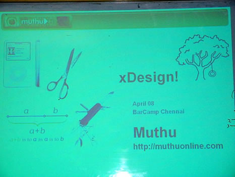 My presentation on User Experience Design