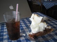 Foot-high Chocolate Pie