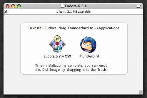 Eudora + Thunderbird