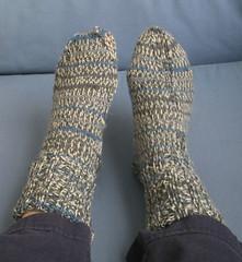 Self-Patterning Socks