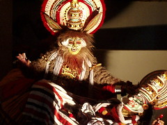 Vishnu's monstrous cat form