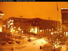 Snowy UW Tacoma