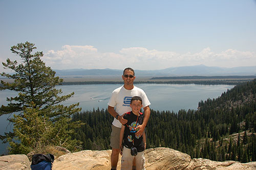 Grand Teton - Inspiration Point