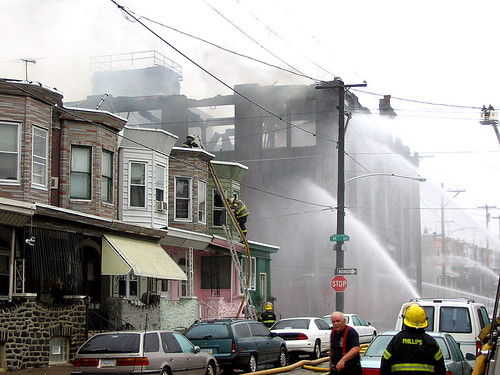 Fire at The Simple Way Philadelphia