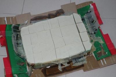 Al día siguiente ya rompimos la caja