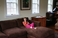 New Sofa with Kid