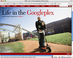 Life in Googleplex