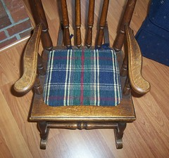 Rocking chair pad