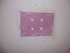Patching a hole in the drywall - part ii