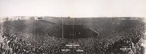 Michigan Stadium Official Opening