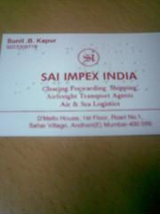 Sai Impex India - front