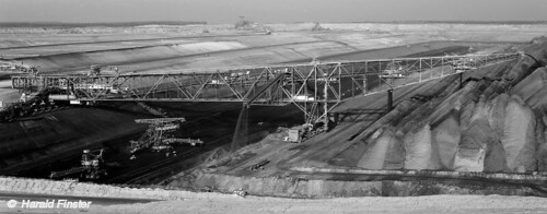 The Overburden Conveyor Bridge F60