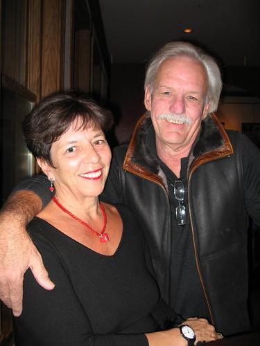 Mom and Bill in the Wheeler Opera House Lobby