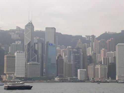 Hong Kong desde Kowloon