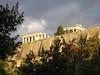 Arrivée à l'Acropole